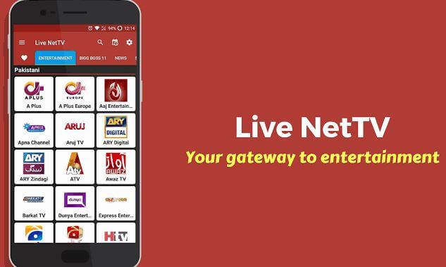 Live NetTV APK Download Latest Version