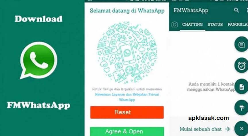 Enable Unknown resources to install the FMWhatsApp APK file.